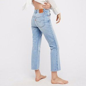 Levi's 517 Cropped Boot-Cut Jeans Kerouac Effect